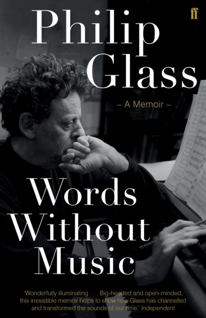 Book Signing Philip Glass : Words Without Music