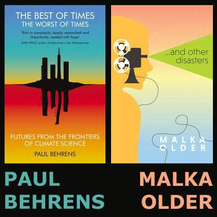 Book Launches: Paul Behrens & Malka Older